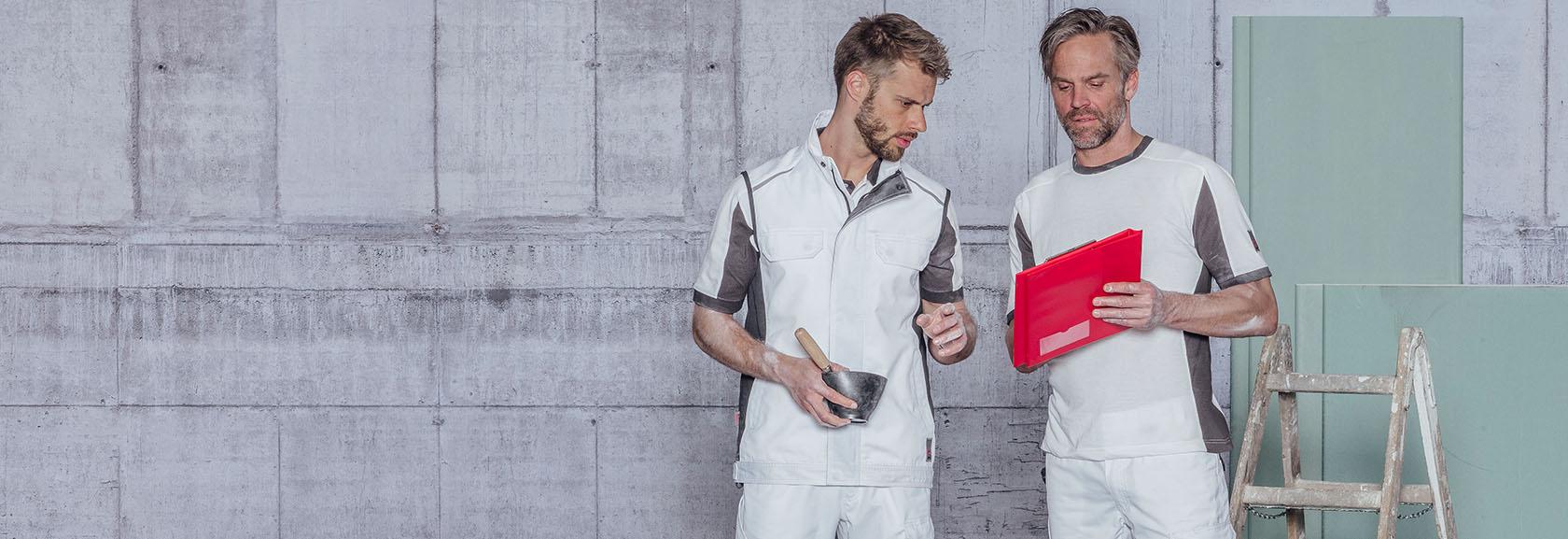 Weiss für Maler, Gipser & Stuckateure