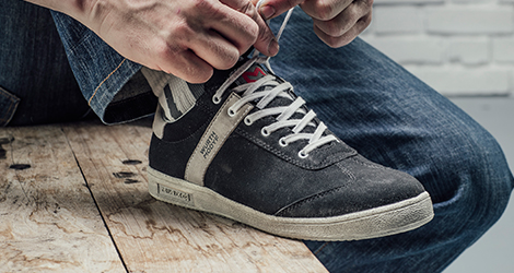 Flexible und Leichte Schuhe für Kurierdienst