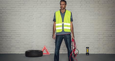 Warnweste für Spediteur/Fahrer - Schutzkleidung