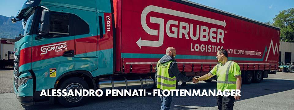 Alessandro Pennati und sein Team verlassen sich bei der Arbeit als Spediteure auf die Fuo und Stretch X Worwear