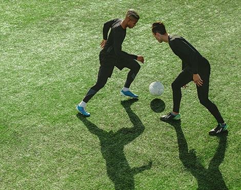 Pascal Lazarek verlässt sich auf seine Workwear, sowie die Fussballspieler sich auf ihn