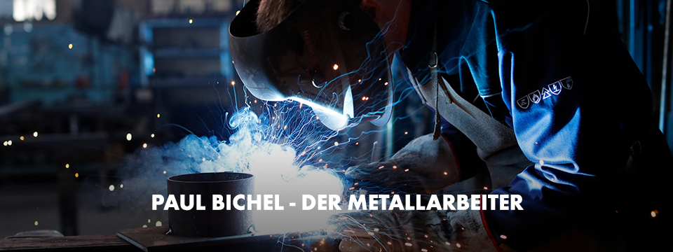Paul Bichel, Metallarbeiter
