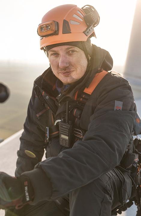 Björn Orth, der Servicetechniker