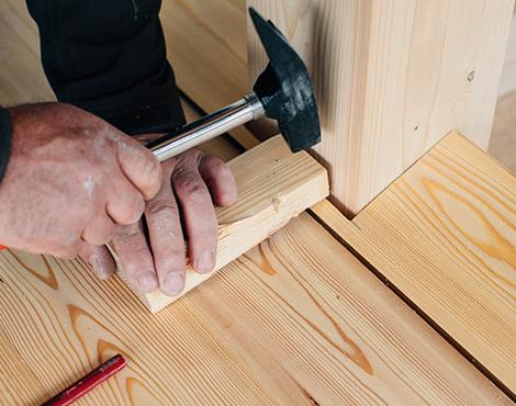 Holz ist nachhaltig, vielseitig einsetzbar und lässt sich leicht verarbeiten