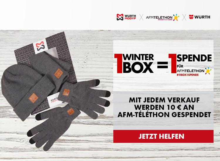 Für jedes verkaufte Winter Set spenden wir 10€