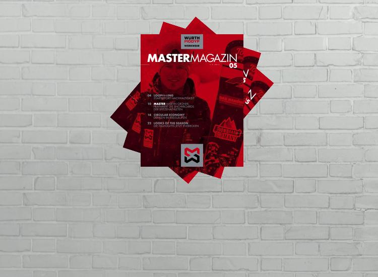 MasterMagazin: Workwear Trends, Nachhaltigkeit, Master-Sponsoring und vieles mehr