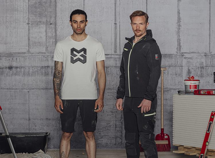 Moderne & bequeme Arbeitskleidung für den Sommer mit HeiQ Technologie