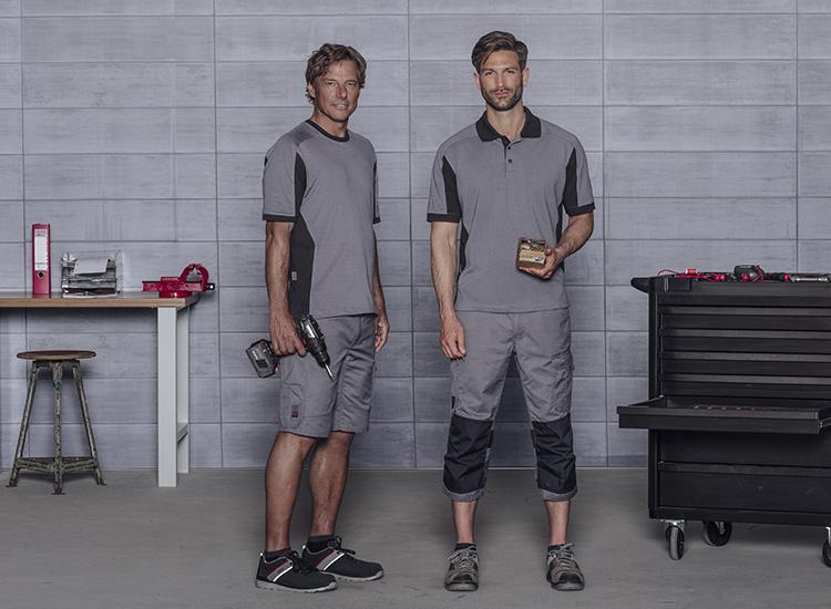 Frische Farben und moderne Outfits: die hochwertige Cetus Kollektion ISO 15797 bietet Workwear mit Qualität