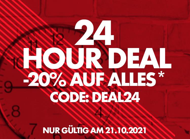 Nur heute -20% sparen auf Arbeitskleidung & Sicherheitsschuhe: 24 Hour Deal