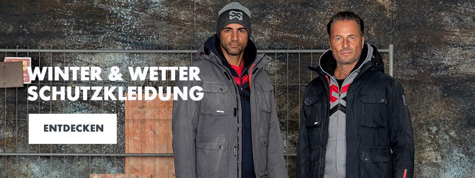 Winter- und Wetterschutzarbeitskleidung