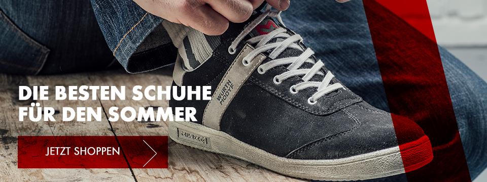 Die besten Schuhe für den Sommer