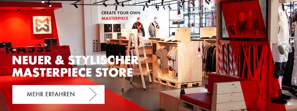 Masterpiece Store - Neueröffnung