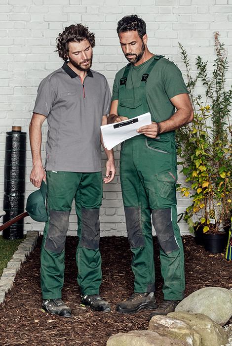 Innovative & bequeme Arbeitskleidung: Stretch X in Grün