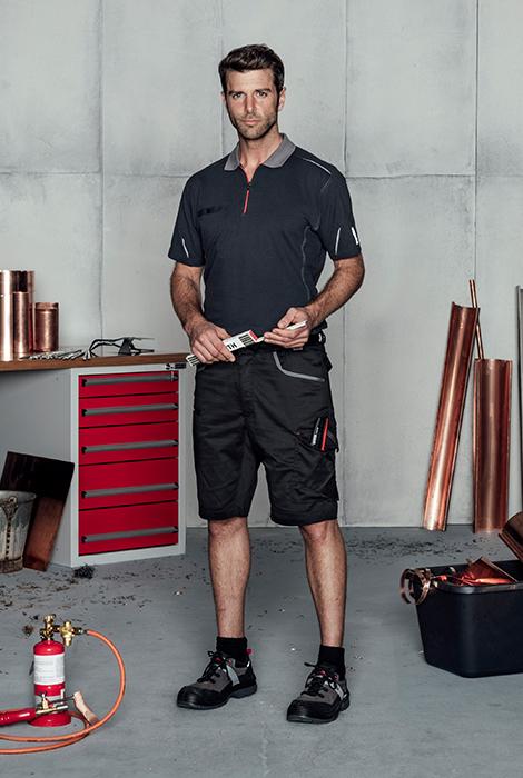 Innovative & bequeme Arbeitskleidung: Stretch X in Schwarz