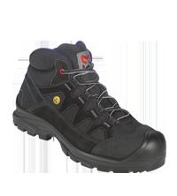 Orthopädischer Arbeitsstiefel S2 ESD SRC Comfort Flexitec schwarz