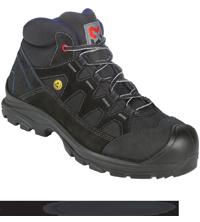 Sicherheitsstiefel S2 ESD SRC Comfort Flexitec schwarz