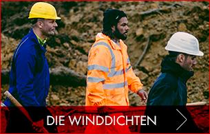 Winddichter Arbeitsschutz