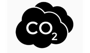 Icon der CO2 Bilanzierung für Workear Spezialist Würth Modyf