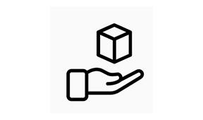 Icon der Verpakungsbilanz beim Arbeitskleidungshersteller Würth Modydf