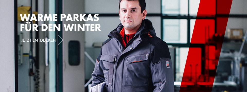 Parkas perfekten Arbeitsjacken für den Winter