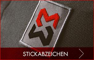 Stickabzeichen & Logos zum Aufnähen für Textilien