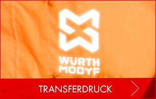 Transferdruck und Bügelbilder für Ihre Arbeitskleidung