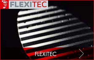Flexitec Technologie Sohlentechnologie aus Federstahl gibt dem Fuß stabilen Untergrund und optimale Energieübertragung