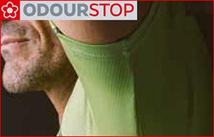 Odourstop Technologie neutralisiert Schweißgeruch und sorgt für Frische