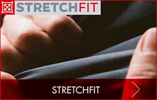 Stretchfit Technologie Arbeitskleidung enthält hohen Stretchanteil für erstklassige Bewegungsfreiheit