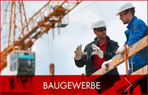 Arbeitskleidung und Sicherheitsschuhe für das Baugewerbe