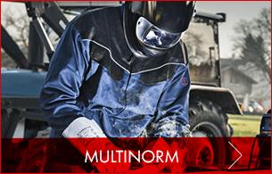 Multinorm Schutzkleidung: Flamm- und Spritzschutz