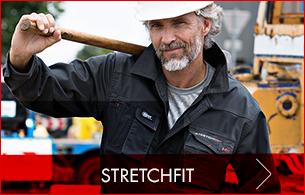 Stretch Arbeitskleidung mit maximaler Bewegungsfreiheit